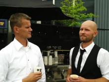 Peter Larsens Kaffe - en dialog mellem Claus Berthelsen og Lars Aaen