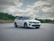 Nya Kia Optima Sportswagon - Testad av barn_kortversion