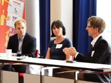 Paneldebat, Danske Bank, LEGO og Carlsberg, Mynewsday maj 2012