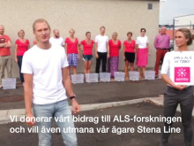 Sembo antar utmaningen i ALS Icebucket Challenge