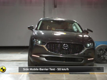 Mazda CX-30 Euro NCAP testing Nov 2019