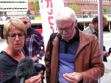 Video - Pestaurant lockade många till Sergels Torg i Stockholm