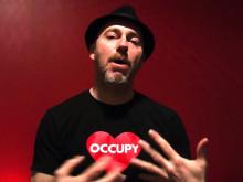 Regissören Velcrow Ripper berättar om OCCUPY LOVE - Sverigepremiär måndag 6 maj på Bio Rio, Stockholm.