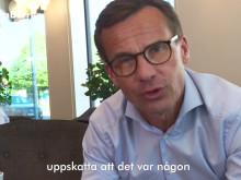Ulf Kristersson antar #integrationsutmaningen och träffar Saman