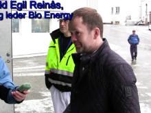 Offisiell åpning av flisfyringsanlegget ved TM Elnesvågen