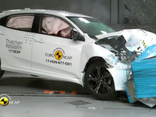 Honda Civic crash test video montage - Nov 2017