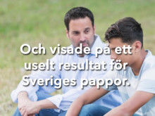Bottenbetyg pappor i undersökning