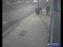 CCTV of suspect in Deptford Broadway