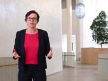 Helena Norrman, Ericsson och Peter Skogh, Tekniska, om samarbetet. Foto: Anna Gerdén