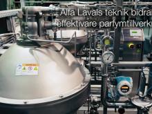Effektivare parfymtillverkning med Alfa Lavals teknik