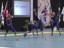Guldhopp nr 1 för Sverige - VM i hopprep 2016