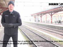 Dormer Pramet gillar järnväg