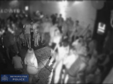 CCTV footage from inside the club