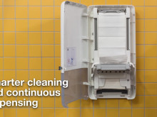 Smarter cleaning and continuous dispensing