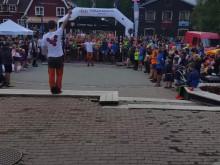 Bra stämning på Åre torg vid starten av Copper Trail 7K