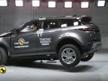 Range Rover Evoque - montage testing April 2019