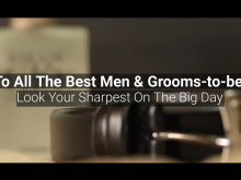 [Amaris B. Clinic] Grooms & Best Men: Looking Sharp On The Big Day