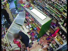 [CCTV - fight in shop]