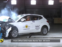 SEAT Ibiza crash testing - July 2017