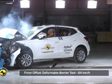 SEAT Ibiza crash testing - July 2017