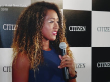 Naomi Osaka signed as CITIZEN's new brand ambassador