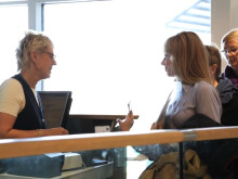 Göteborg Landvetter Airport - resenärer vid gate