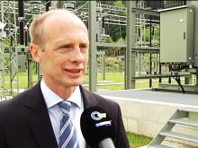 Oberpfalz TV - Berichterstattung zur Inbetriebnahme des Umspannwerks in Falkensein