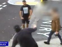 CCTV footage of assault