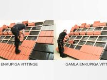 Vittinge original enkupigt - uppgraderad för enklare och snabbare takläggning