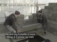 Björn bygger bo, anneks – Episode 2 Pusset og klart