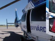 Rörliga klippbilder – Luftburen intensivvård (ambulanshelikopter)