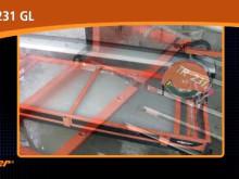 Ny rammesag for ektra store betongheller, keramiske fliser og skiferheller_video