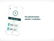 Opus Bilprovning-appen - påminnelser när det är dags att besikta