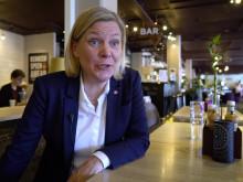 Ministerbesök på Scandic Helsingborg Nord
