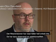 Seminarium Riksdagen om revisionsplikt