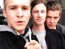 Metal-killarna i OUTTRIGGER ska testa plåtslagaryrket på Yrkes-SM!