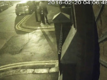 CCTV of the assault in Forest Gate