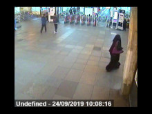 Shaikh at Uxbridge tube station 24 Sept 2019