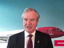 Bjørn Kjos om situationen gällande bolagets Boeing 737 MAX flygplan