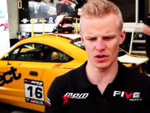 Race samanfattning av första heatet på Anderstorp i GT5 Challenge 2013 i Sverige