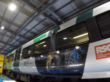 Royal Shakespeare Company train wrap in action [Video]
