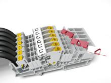 Frånskiljbar plint med automatisk kortslutning av strömtransformatorkrets