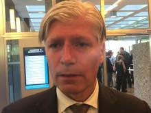 Klima- og miljøminister Ola Elvestuen om utslippsfrie byggeplasser