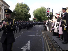 RAF Reserves Freedom of Oxford Parade