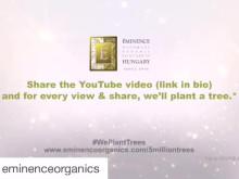 Éminence Organics firar 5 miljoner planterade träd