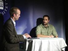 Mattias Lundberg intervjuar Mathias Osvath på Psykologisk Salong den 4 oktober 2012