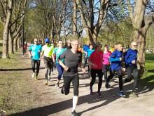 Løpegruppe med Friskis&Svettis