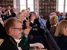 Ida Backlund, Rapunzel of Sweden tar emot pris av prins Daniel