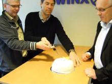 Live från Swinx Trendator 25-års firande :)