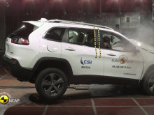 Jeep Cherokee Euro NCAP testing October 2019